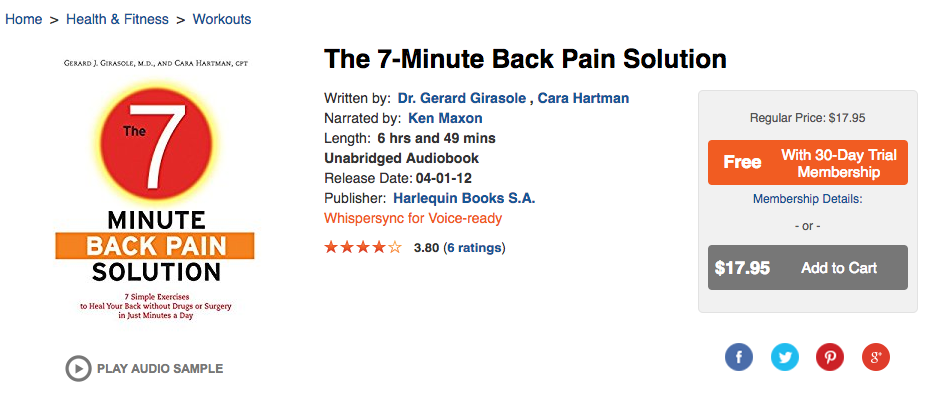 7-Minute Back Pain Solution