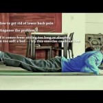 How to get rid of low back stiffness Fix low-back pain AND soreness at home HD