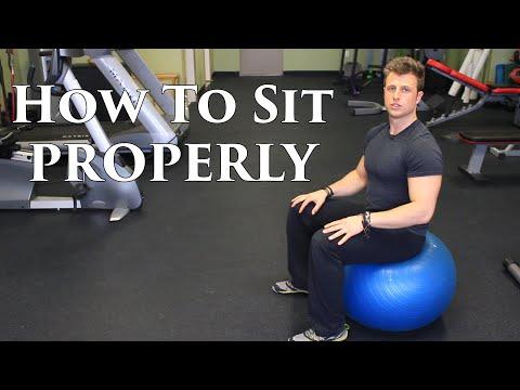 how to sit to fix anterior pelvic tilt